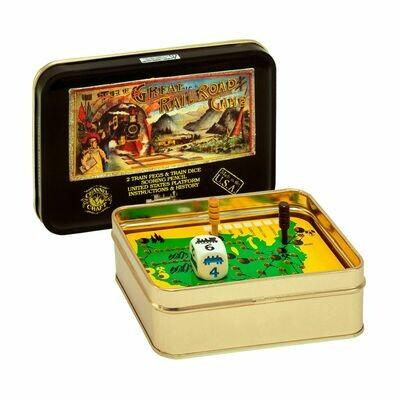 Railroad Game Tin