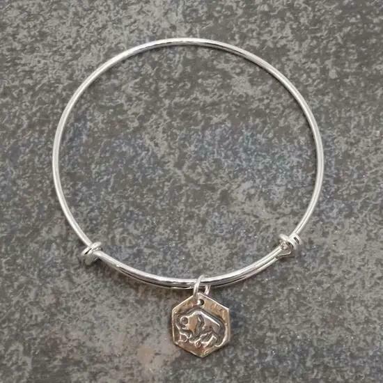 Silver Buffalo Bracelet