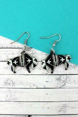Sierra Sands Bison Earrings