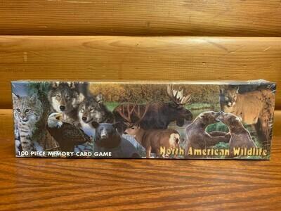 North American Wildlife Memory Game