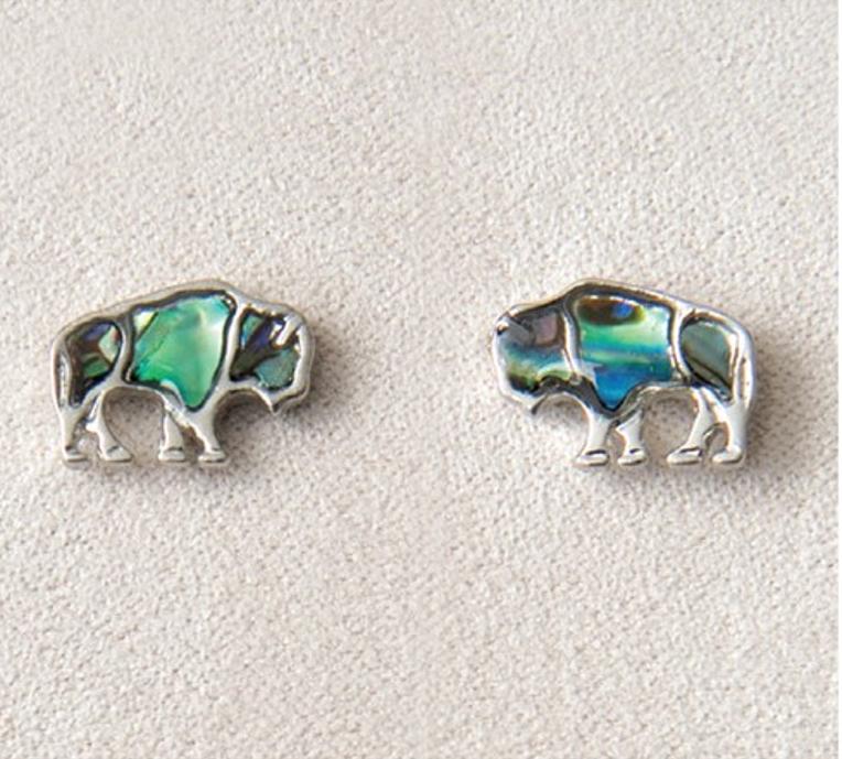 Pearle Buffalo Stud Earrings