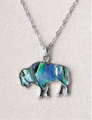 Pearle Buffalo Necklace