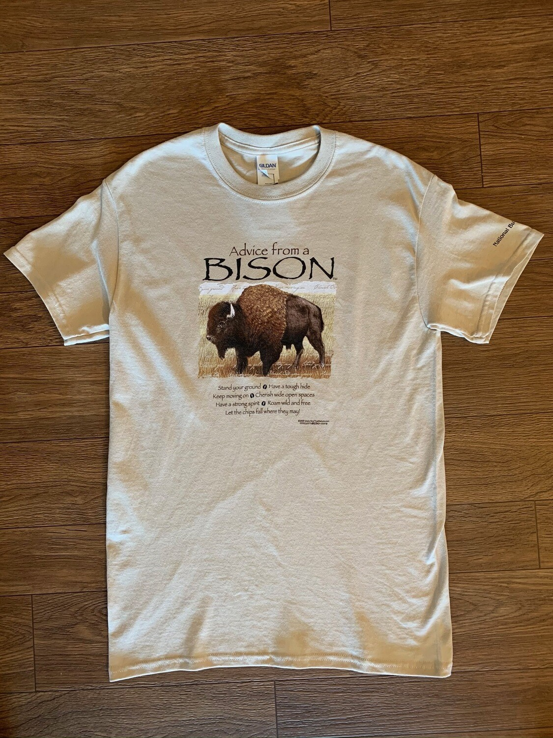 Advice from a Bison T-Shirt