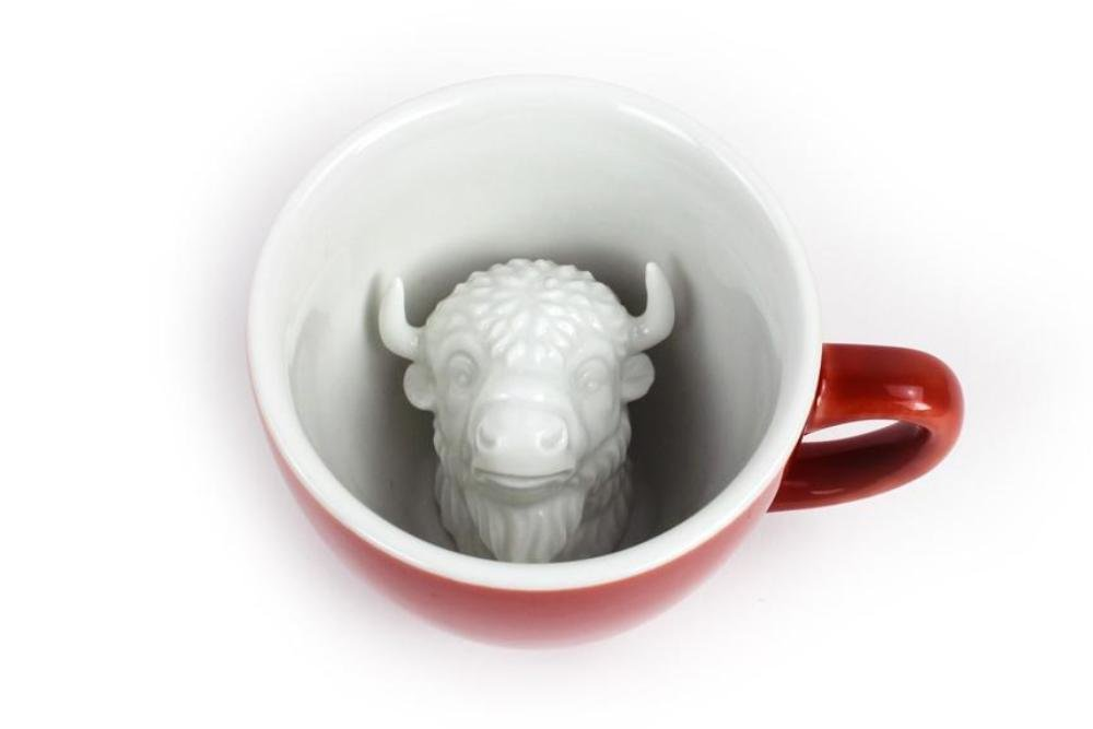 Bison Creature Cup Coffee Mug 8404