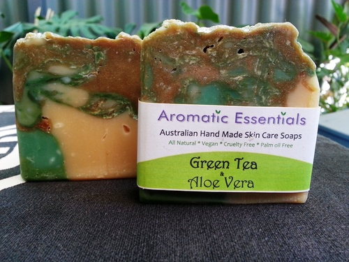 Soap - Organic Green Tea and Aloe Vera