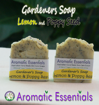 Soap - Lemon and Poppy Seed for Gardeners