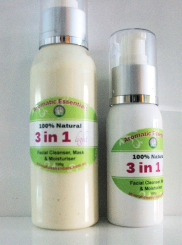 Face 3 in 1 Cleanser Mask and Moisturiser