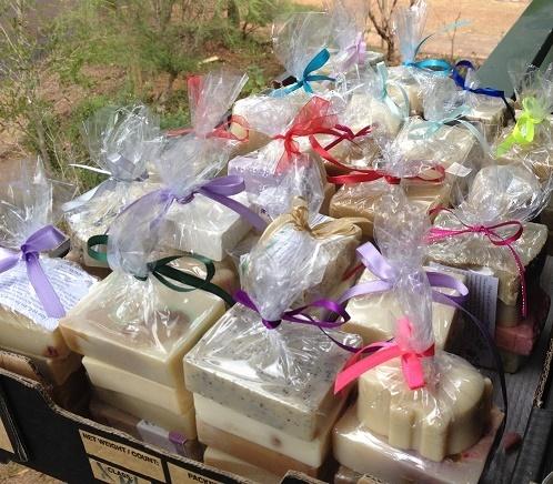 Soap Packs of 4 - Buy in Bulk - Gifts under $20
