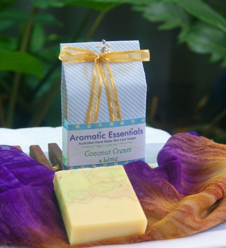 Soap - Organic Coconut Cream Tangerine