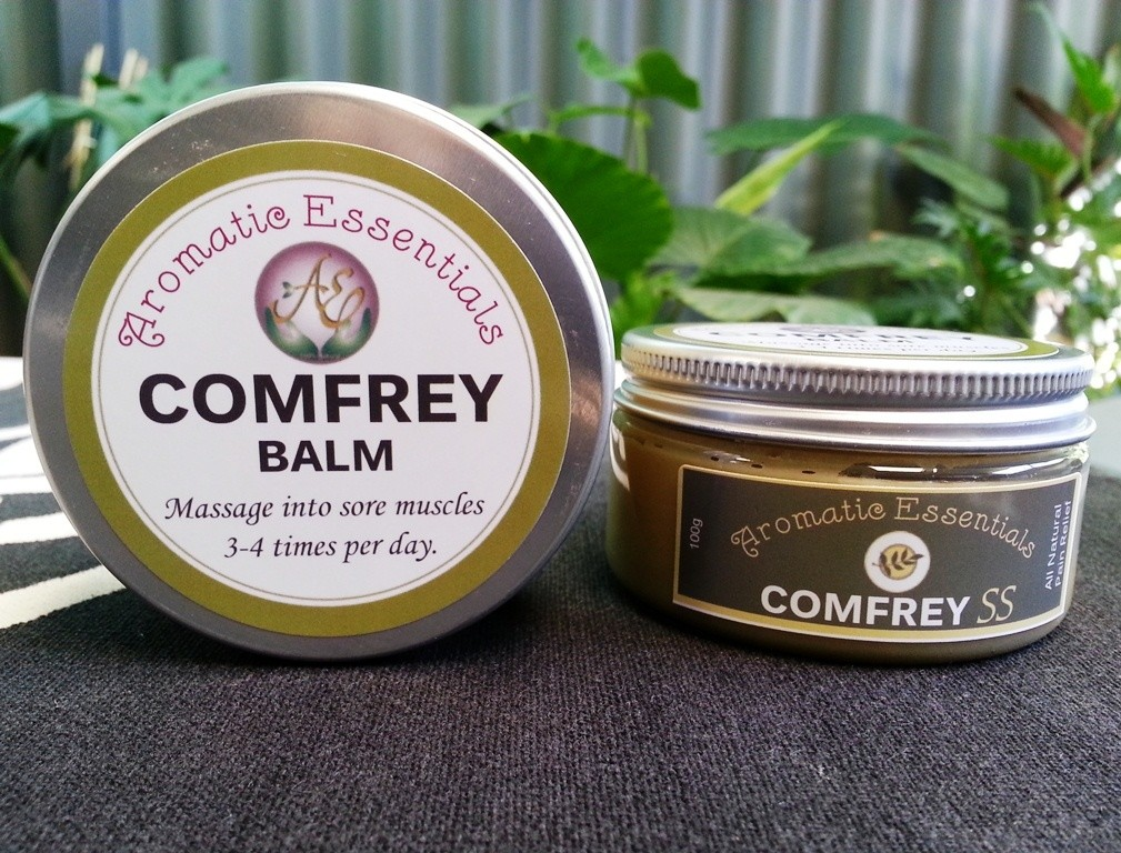 Comfrey Balm - For Sore Muscles, Aches and Pain