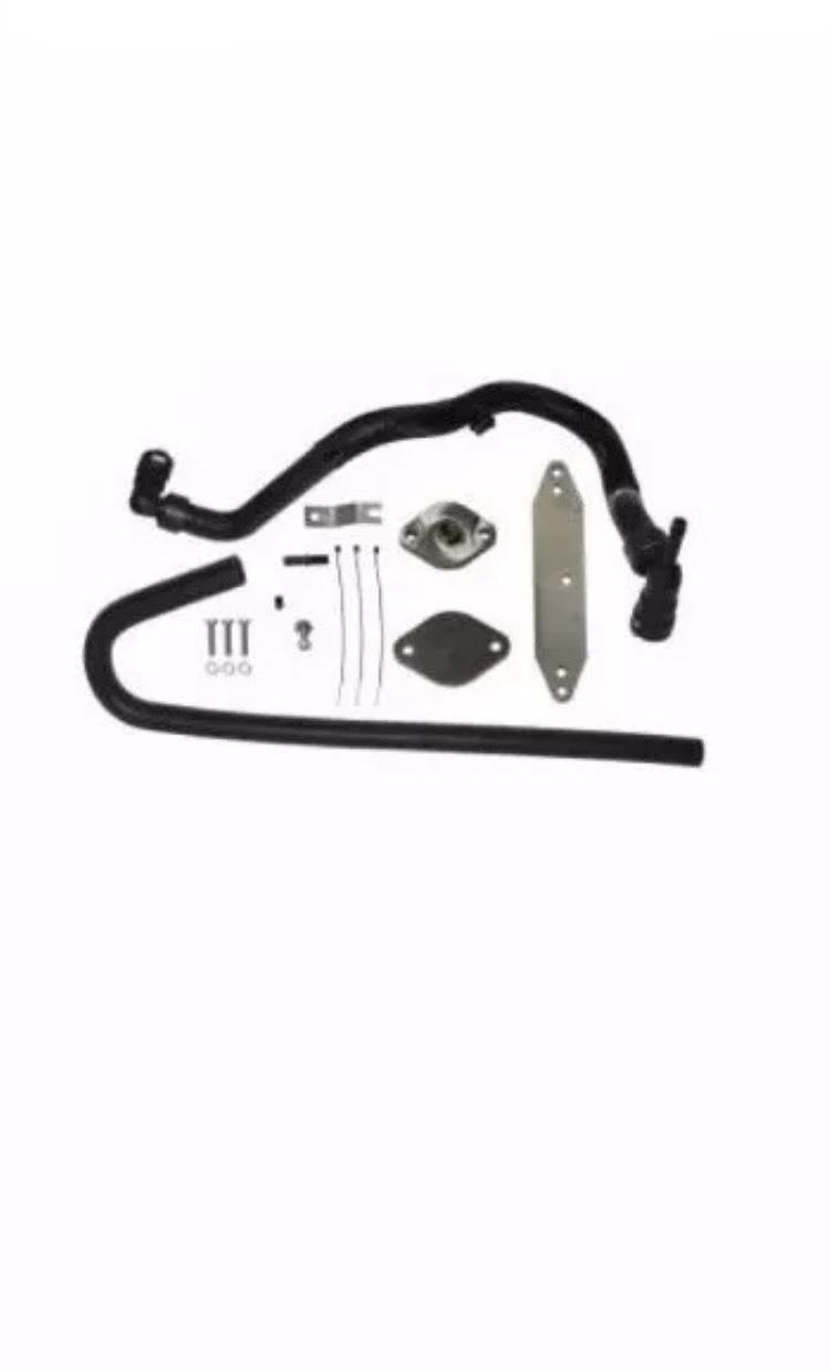 NEW SMC-EGRD-6 7P EGR Valve/Cooler Delete Kit 15-17 POWERSTROKE 6 7