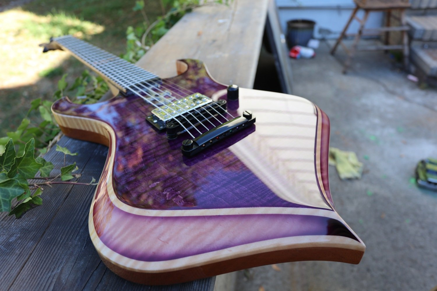 Rojak 7 custom purple