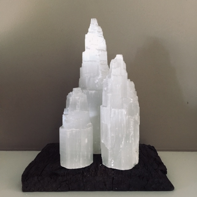 Super Selenite Tower Set - save > 10% 00282