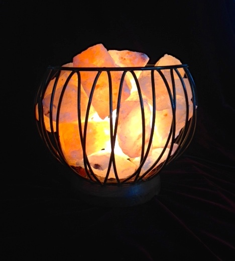 Caged Fire Bowl - Medium 00029