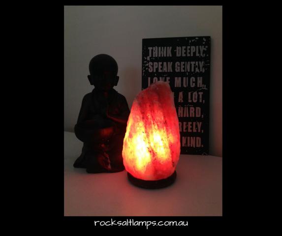 3 - 4 kg Rock Salt Lamp 00272