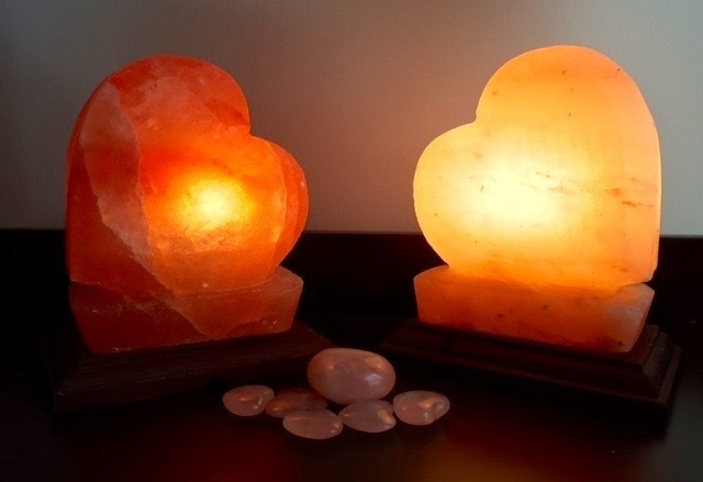 Heart Salt Lamp - discounted by 20% 00062