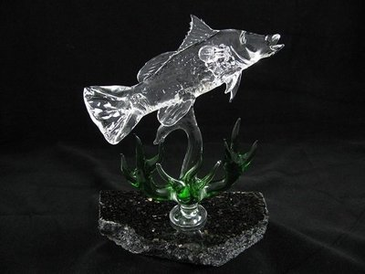 Barramundi with Mangroves on Granite Base