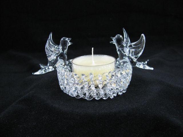 Bird Tea Light Candle Holder