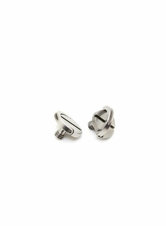 Stainless Steel 1/4-20 Hinged D-Ring