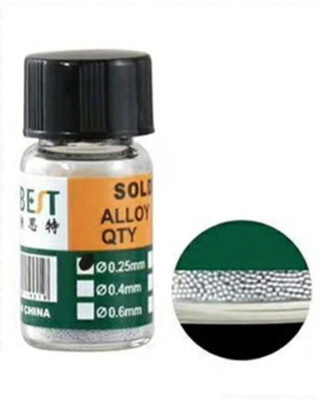 Leaded BGA solder balls