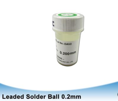 Leaded BGA solder balls 0.2mm