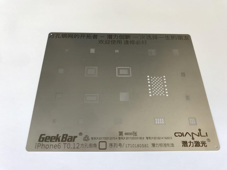 iPhone 6/6+ Flat BGA Stencil