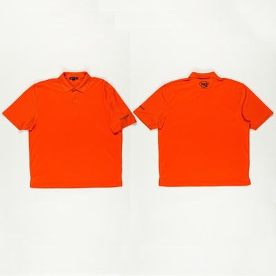 NQ Navy on Orange Polo.  (Now Avaiable)