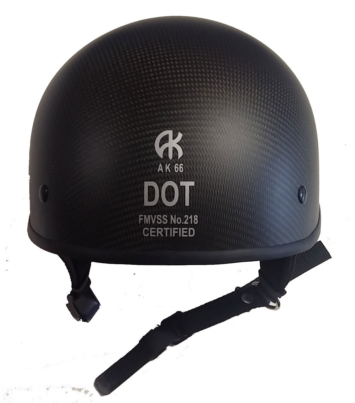 Smallest DOT Helmet - Carbon AK-66