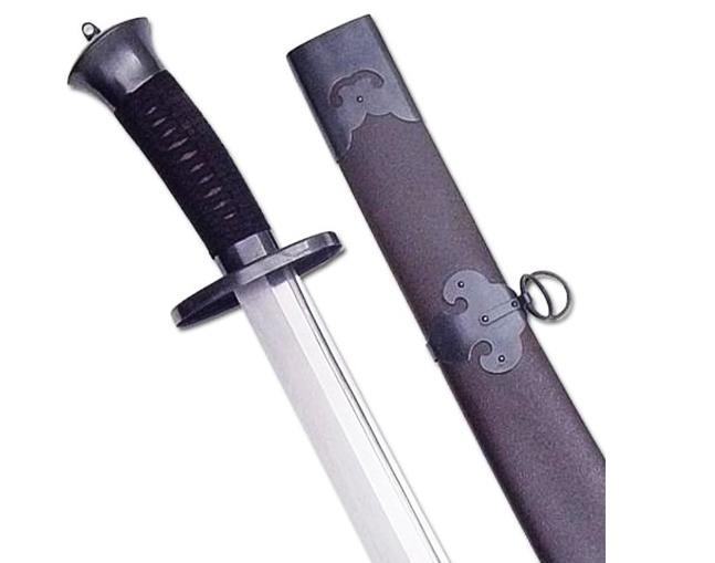 Sable de Kung Fu Ox Tail Negro