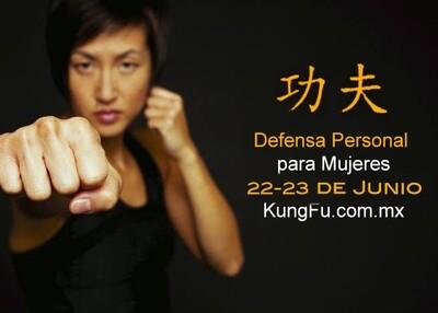Curso Defensa Personal para Mujeres 4 y 5 de Julio