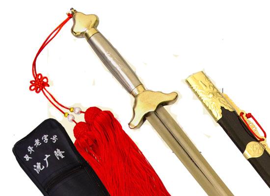 Espada wushu  para competencia  con mango de acero. 00056