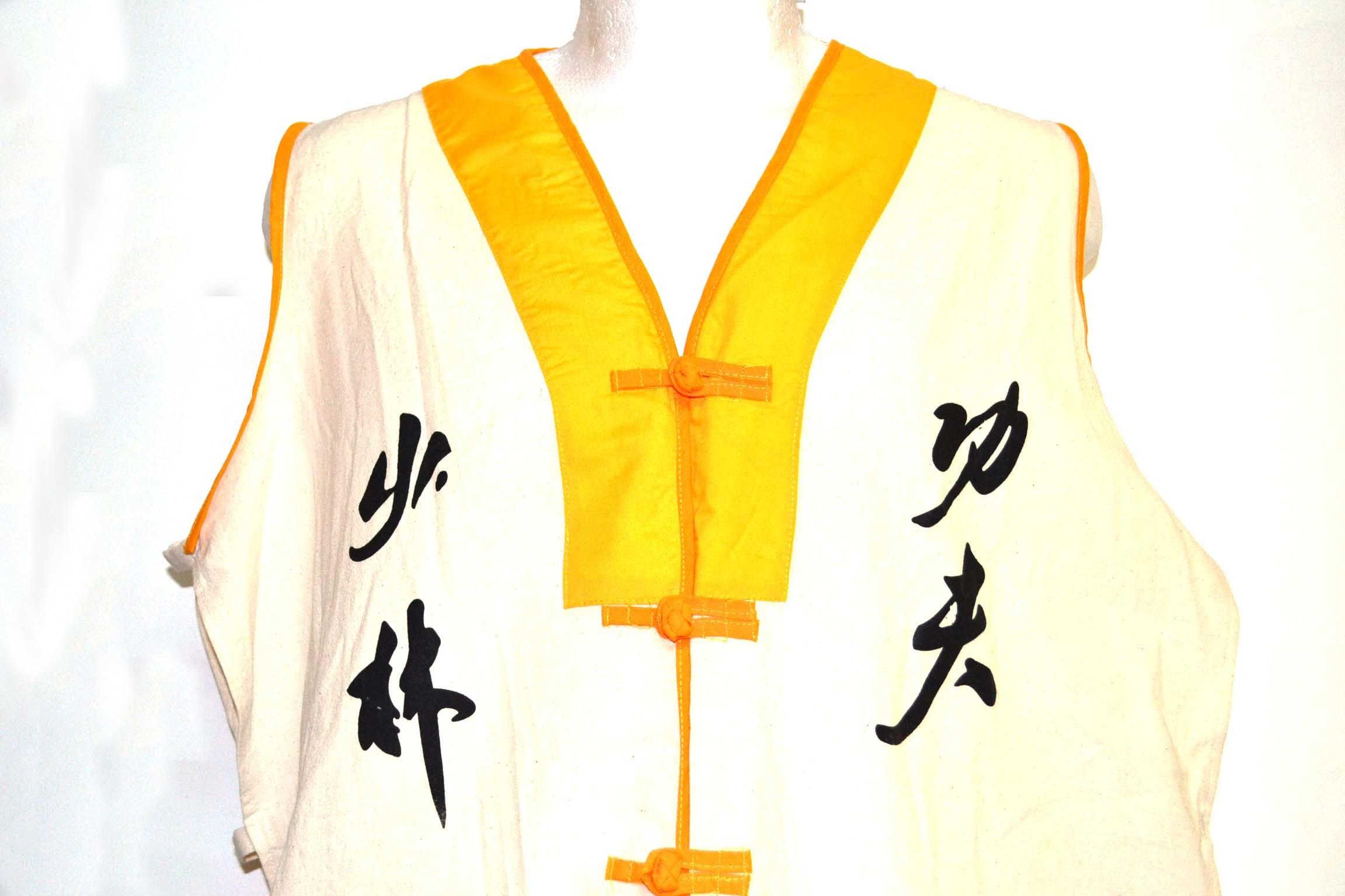 Chaleco   monje Shaolin   tradicional. 00066