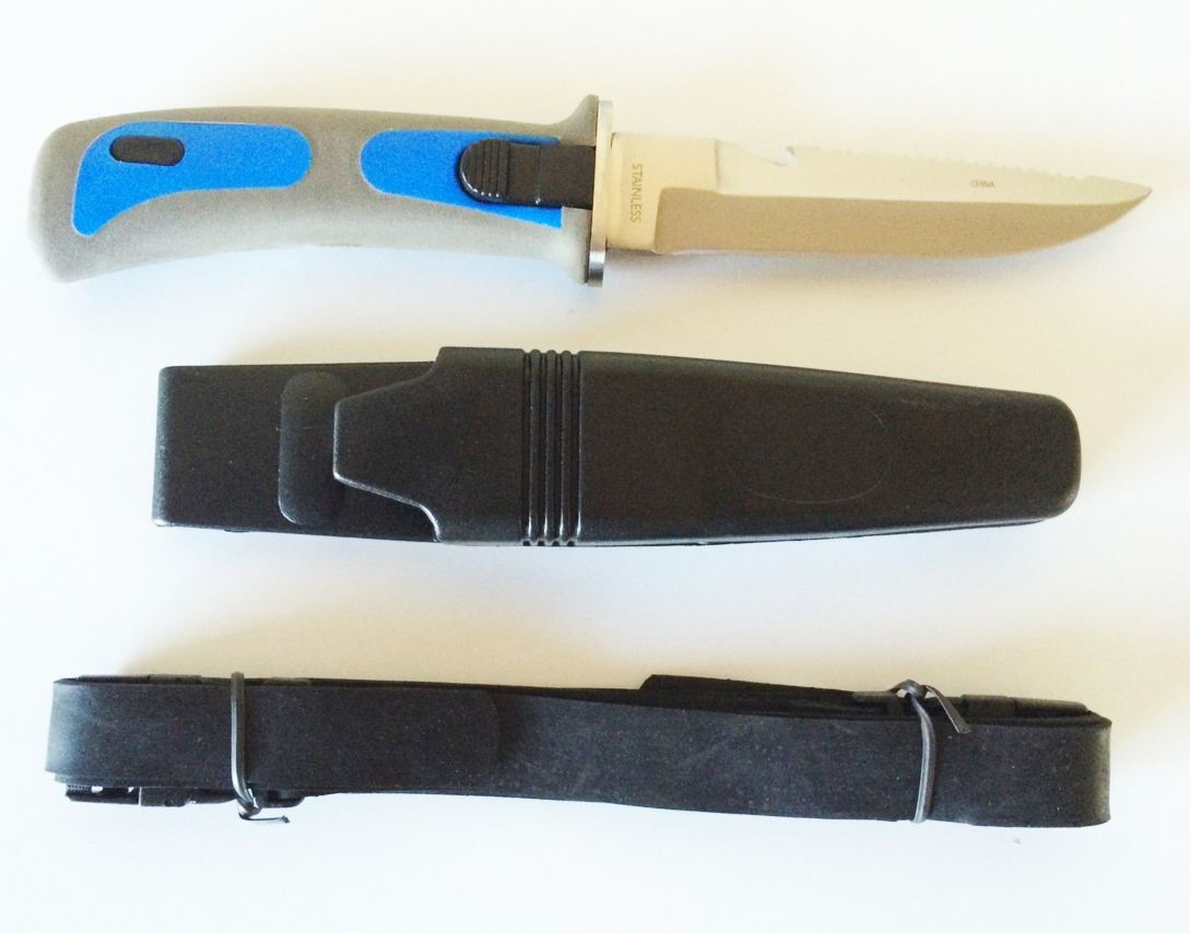 Cuchillo De Buceo Acero Inoxidable 00154