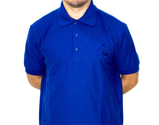 Playera Polo Azul