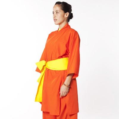 Uniforme Shaolin Kung Fu Naranja