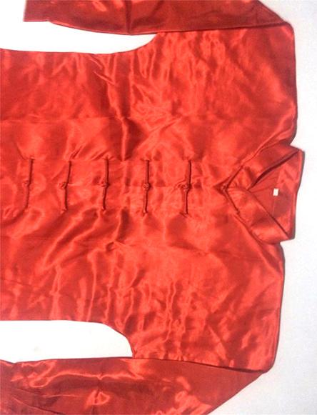 Uniforme Wushu/TaiChi Rojo en Poliseda