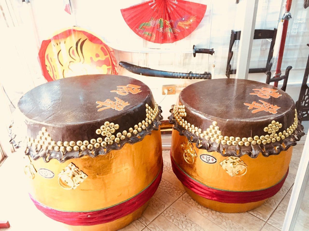 Tambor Danza de Leones Chinos Grande 00219