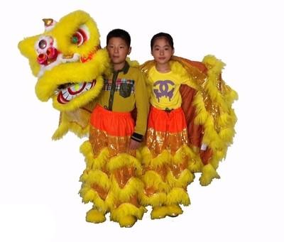 Leon Chino Tradicional para niños