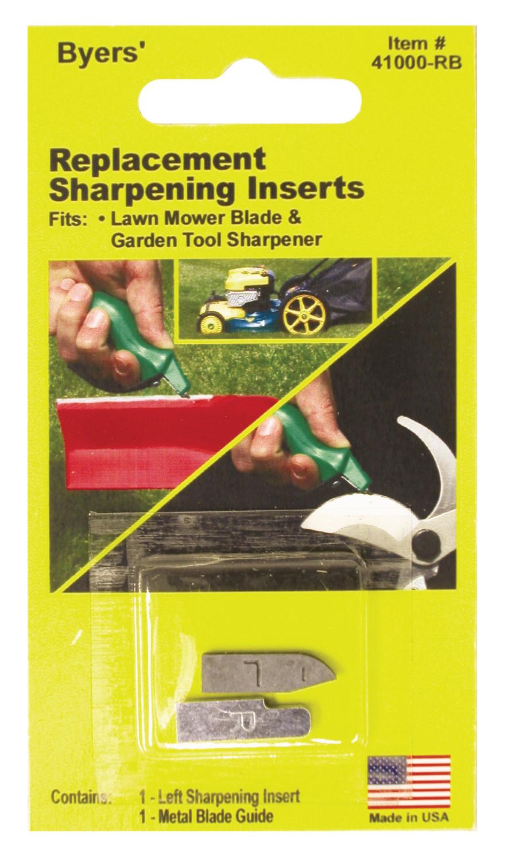 Byers' Lawn & Garden Tool Sharpener Replacement Blades