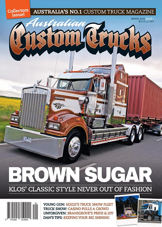 Issue 1 Australian Custom Trucks ACT0001