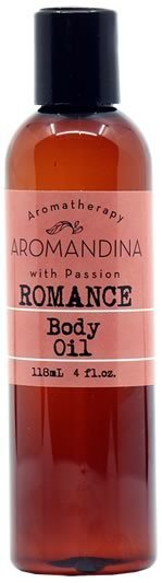 Romance Massage Body Oil 80032