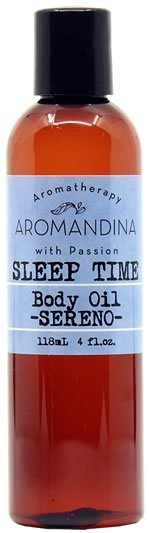 Sleep Time Body Oil