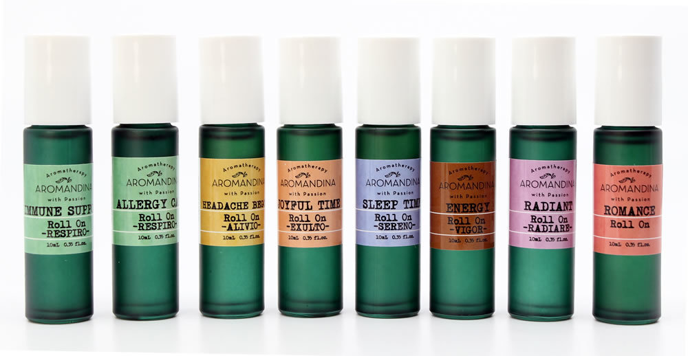 Aromatherapy Roll-On Set 87000