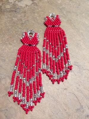 Red Dress Brick Stitch #MMIW