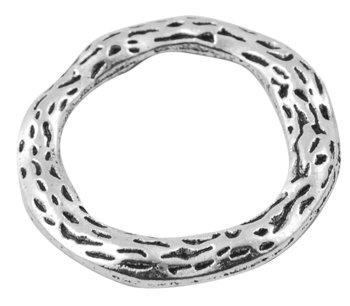 Round Link Silver 22mm