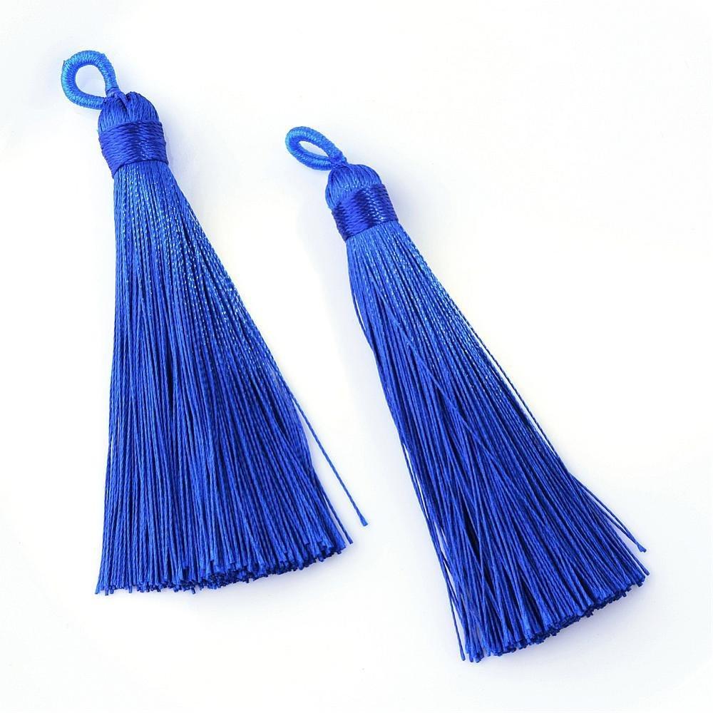 Blue Tassel  87x9mm