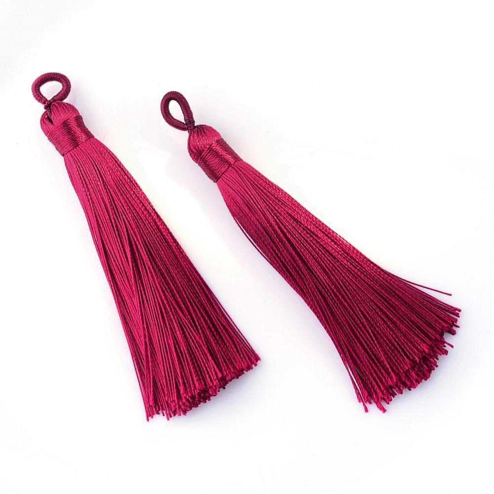 Wine Tassel  87x9mm