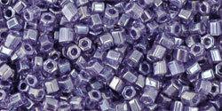 11/0 Hex Toho Tr Sugar Plum Lustre 136