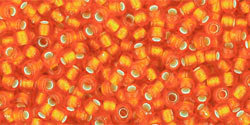 11/0 Round Toho Orange s/l Matte 30bf