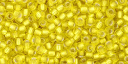 11/0 Round Toho Yellow s/l Matte 32f